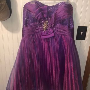 PLUS SIZE HOMECOMING OR PARTY DRESS